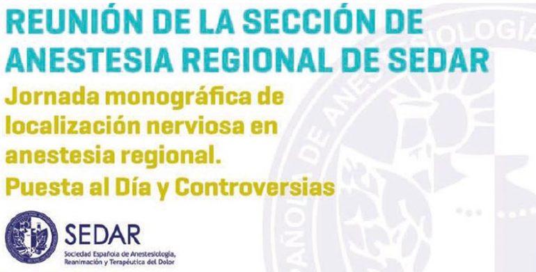 Reunión de la sección de anestesia regional de SEDAR