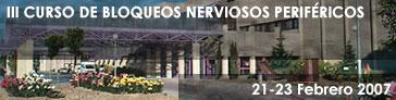 III Curso de Bloqueos Nerviosos Periféricos