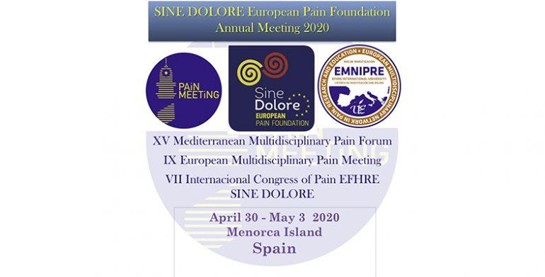 XV Forum Mediterráneo Multidisciplinar contra el Dolor
